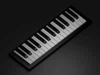 3D Isometric Piano