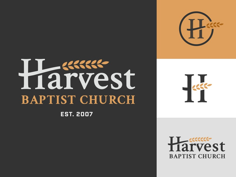 Harvest Logo 3.0 wheat logomark logotype redesign harvest logo