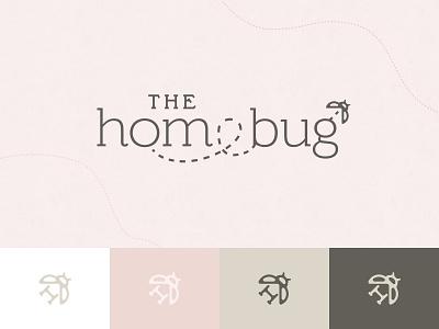 The Homebug retail store retail home bug logo design logo