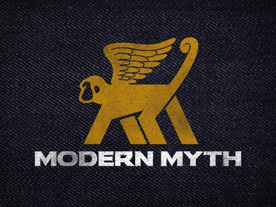 Modern Myth Logo logo