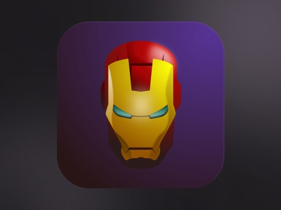 Iron Man Icon 2 logo icon sketch