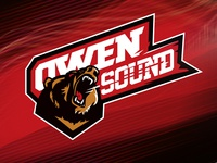 Owen Sound Attack logo redesign concept