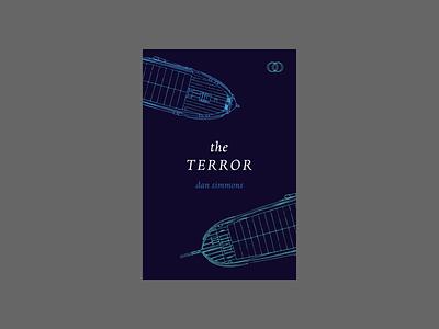 The Terror by Dan Simmons illustration design cover artwork cover art book design book covers book cover design book cover art book cover book
