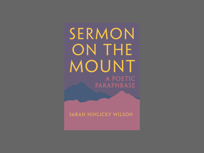 Sermon on the Mount by Sarah Wilson theology design illustration typography cover artwork cover art book design book covers book cover design book cover art book cover book