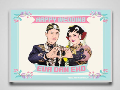 Wedding Vector Vexel Art typography web art illustration illustrator ui vector website animation ux design