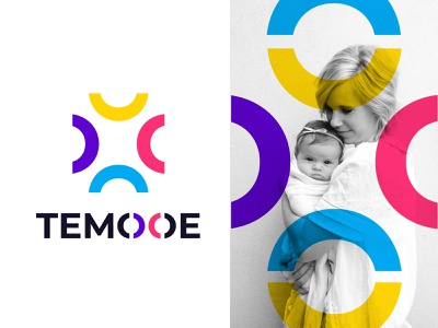 abstract logo l modern logo l colorfull mark best logo typography vector abstract design modern logo designer mark marketplace abstract modern minimal doctor hospitals colorful best logo designer in dribbble baby mother