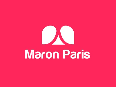 creative logo design for maron paris conceptual app icon traveling n o p q r s t u v w x y z a b c d e f g h i j k l m eye catching pattern flat london paris logo designer vector typography illustration best logo minimal modern logo modern logo designer branding best logo designer in dribbble