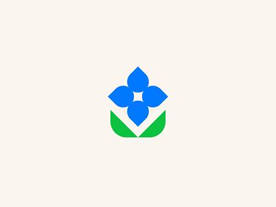 York Irrigation outdoor landscaping irrigation leaf water logo mark