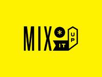 Mix it up logo yellow