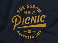 GSD&M Picnic Shirt