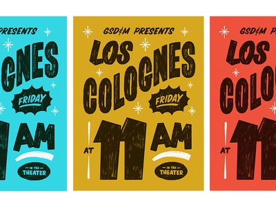 Los Colognes Posters poster sign painting