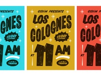 Los Colognes Posters