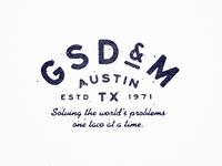 GSD&M Type Lockup