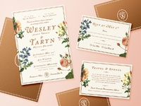 Wes   taryn wedding invitations post dribbble large