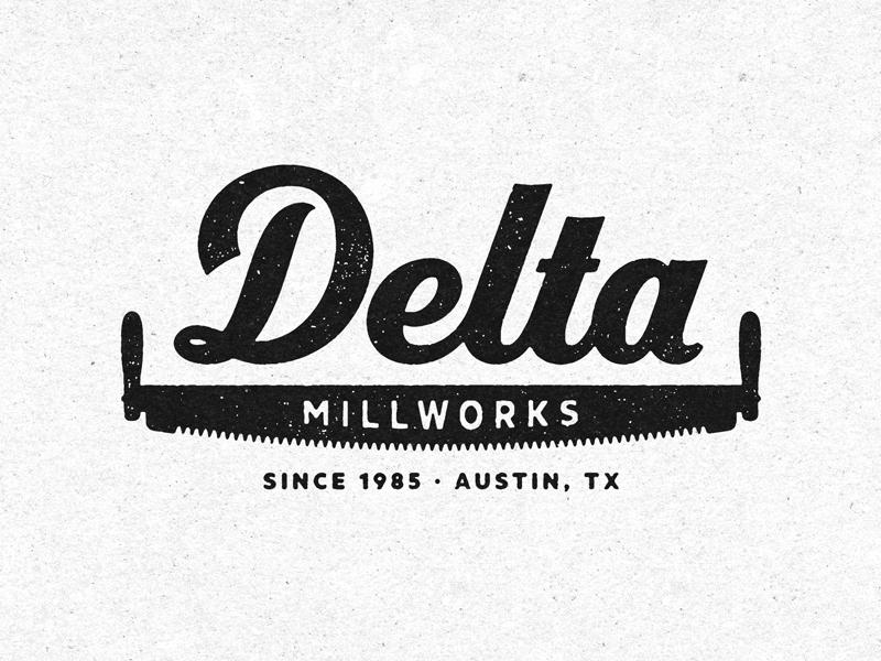 Delta logo texture