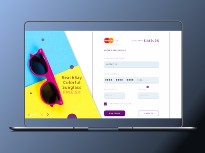 Credit card checkout page beginner desktop ui checkout page design ux ui dailyui