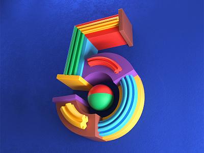 5 Years in Argentina type art type typography letters design artdirector artdirection digitalart illustrator illustration colors photoshop 3d