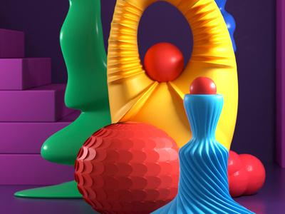 Duma abstract design artdirection artdirector digitalart illustrator colors illustration photoshop 3d