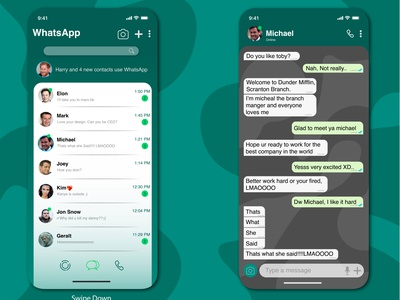 WhatsApp UI Reimagined app reimagine uidesign app design uiux ui adobe illustrator adobe