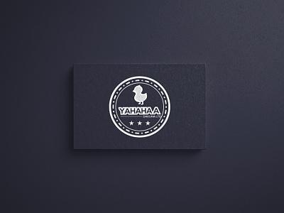 Yahahaa Logo Branding icon illustration flat minimal typography ux vector ui logo design branding logo branding logos graphics