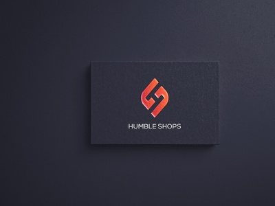 Humble Shop Logo Branding shop logo vector ux letter logos letter logo minimal logo branding logos graphics illustration icon design branding