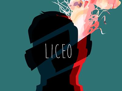 Lyceum Poster typography poster art illustration