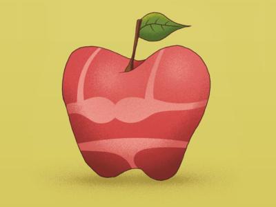 Apple on vacation