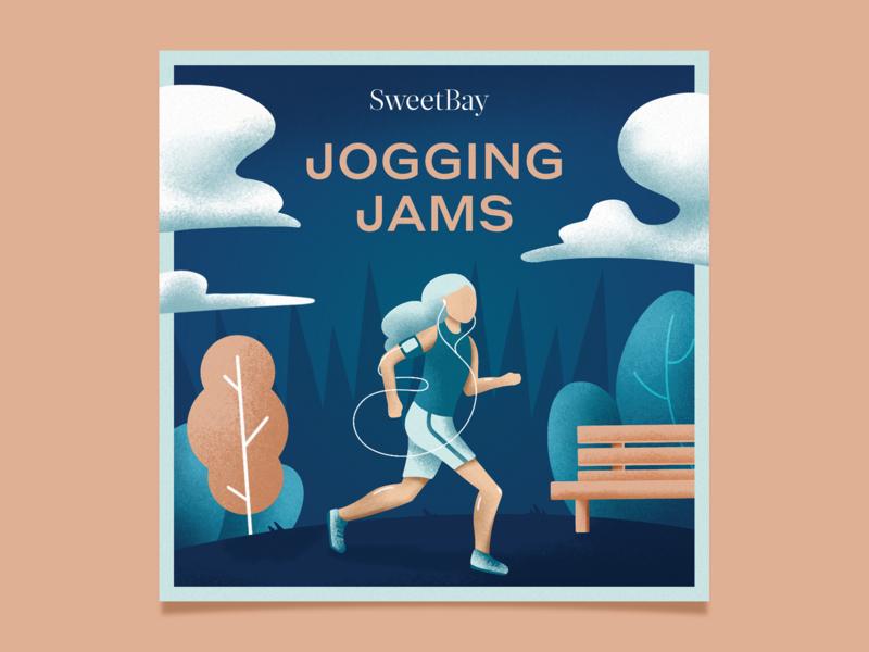 SweetBay Spotify Playlist Cover playlists spotify texture design illustration