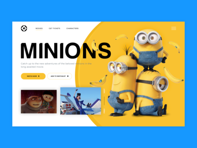 UI Design 002 - Minions