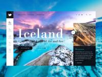 UI Design 003 - Iceland
