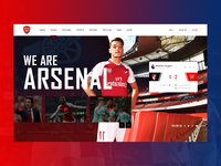 UI Design 004 - Arsenal FC