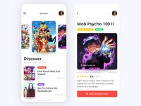 Anime App UI