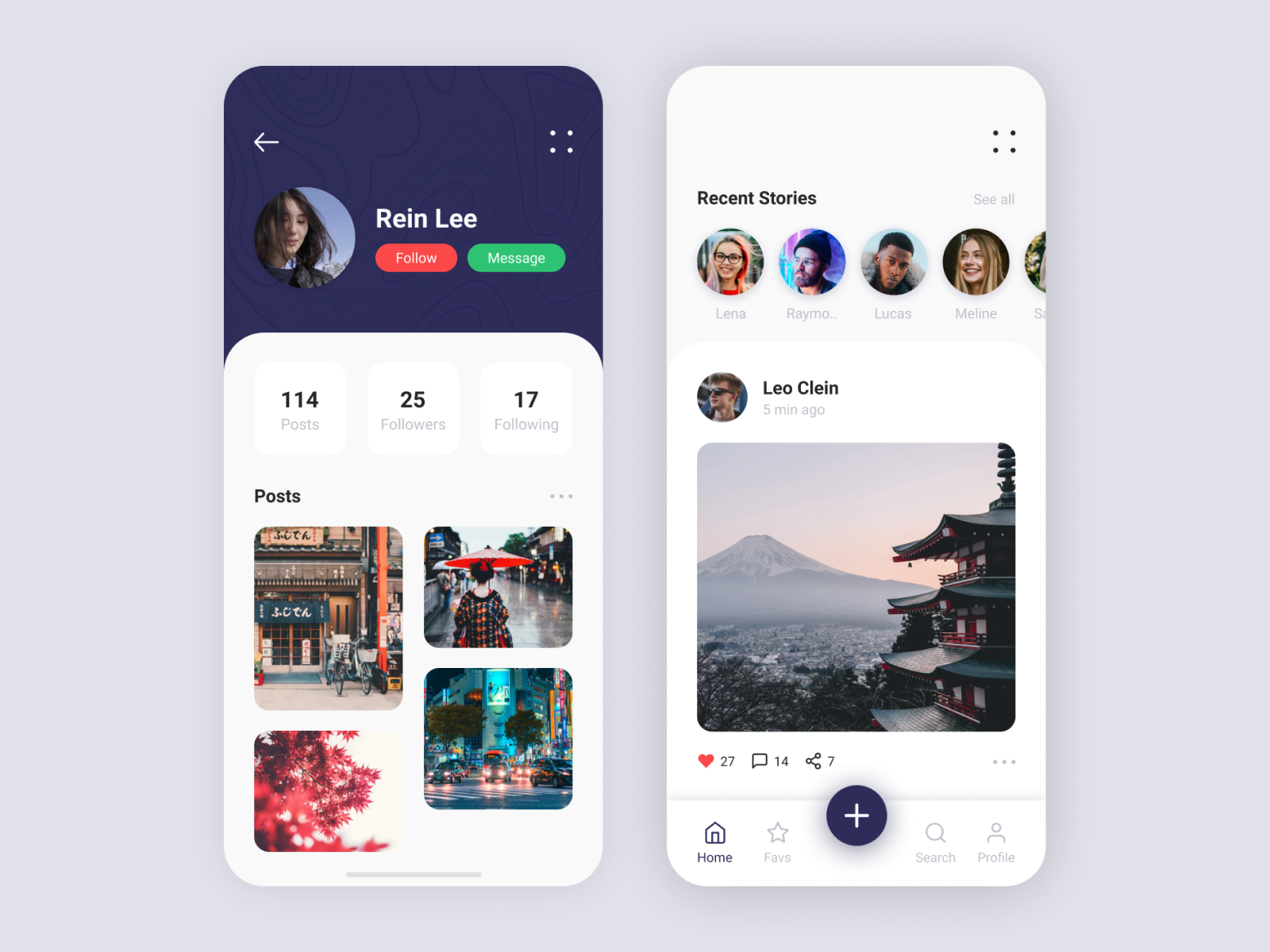 Social Media App By Mehdi Trahim On Dribbble