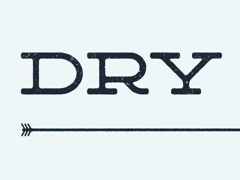 Dry Counties Logo deming southern rough texture arrow production company dry counties lost type