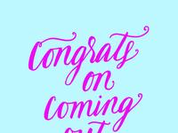Congratsoncomingout