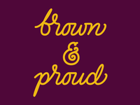 Brown & Proud