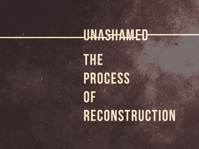 'Unashamed' Rejected Book Cover self help book texture grunge rule book cover bebas neue autobiography