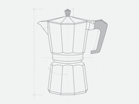Moka Pot Sketch