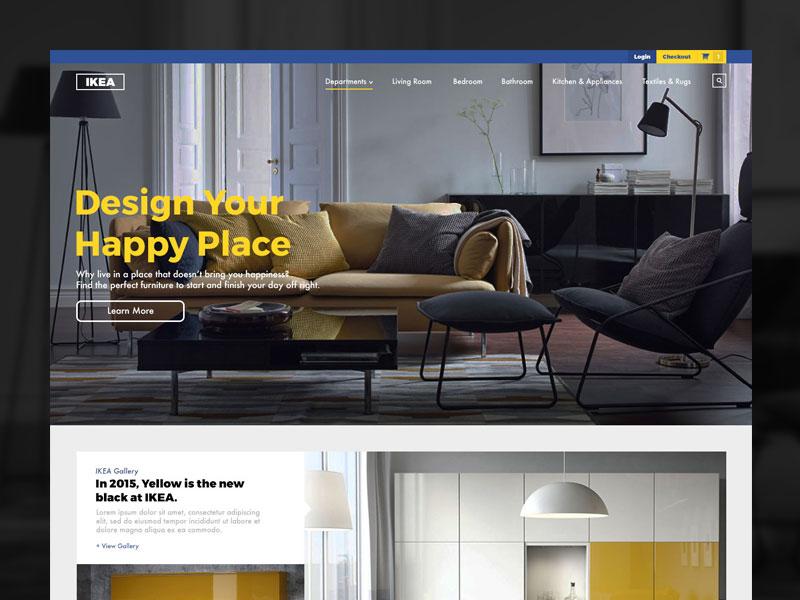 Ikea Website Redesign