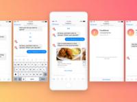 FoodMood Bot for Messenger
