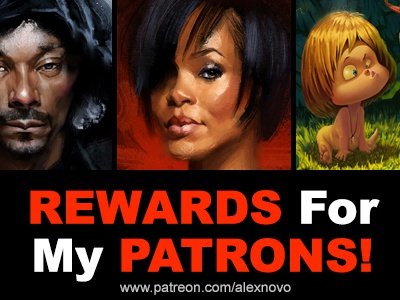 Rewards for my Patrons!!!
