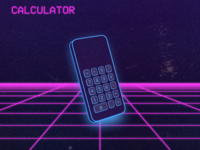 Daily UI :: 004 - Calculator