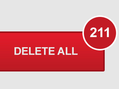 Sometimes a Delete Button is all we need.