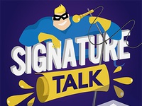 Signature Talk Infographic