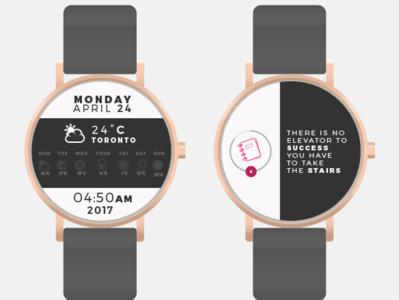 Frequency Smart Watch App ux ui minimal illustration design branding app