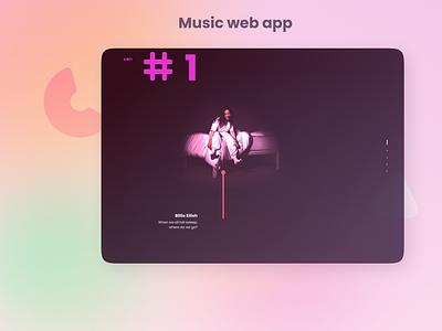 Music web app billie eilish halloween