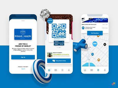 App Design - Coffee & Loyalty ux design mobile ui mobile design mobile app ios app app design app ui design iphone ios