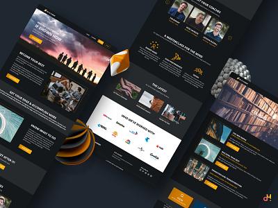 Website Design - Online Courses Landing Pages ux ui website design websites wordpress design wordpress design
