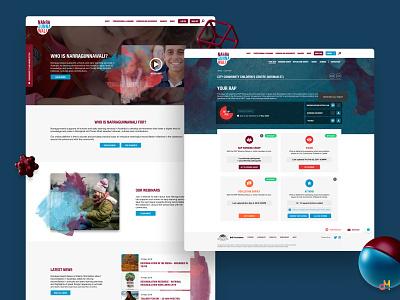 Web Platform Design - Reconciliation in Early Learning ux  ui web portal web platform web design ux design design ui design