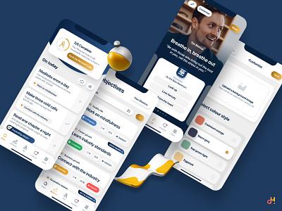 App Design - Growth, Development & Accountability (Revised) mobile ui ux design ui ux ux  ui mobile app mobile design app design app ui design